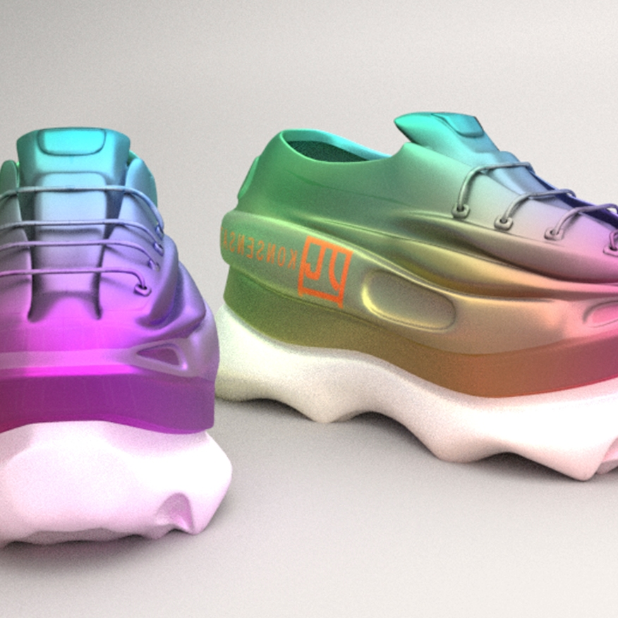 Virtual Shoes by S-WORDS virtual couture